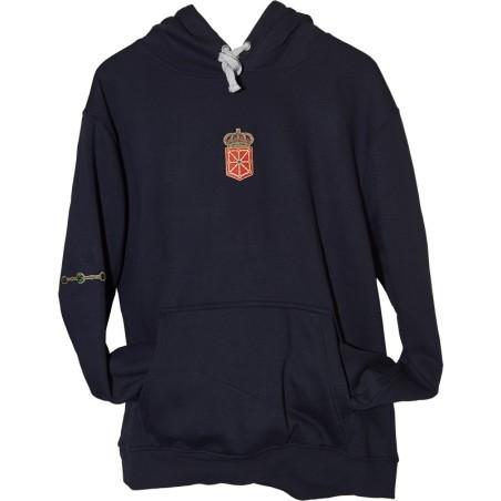 Sudadera con escudo de Navarra